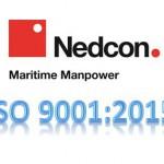 Nedcon Maritime Manpower Supply ISO 9001:2015 certified